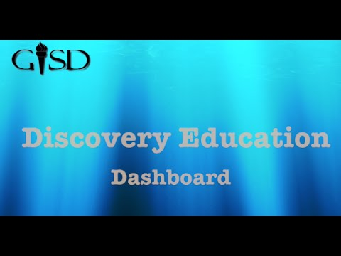 discovery education access and dashboard youtube
