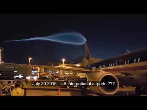 Гигантский НЛО напугал пассажиров аэропорта. Кадры с места. Новости сегодня. Doomsday 29-7 UFO