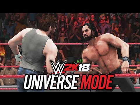WWE 2K18 UNIVERSE MODE (In-Depth Breakdown & NEW MATCH GAMEPLAY!!)