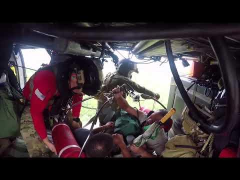 USAF SAR Hurricane Harvey relief efforts