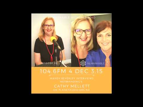 Remarkable Women Radio interview with Net Branding's Cathy Mellett