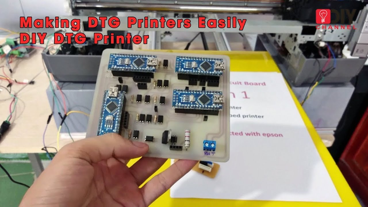 Making DTG Printers Easily | DIY DTG