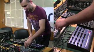KiNK live analog dub session for Dub Laborant radioshow 2013.02.25 @RadioBinar