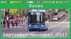 Bus videos: September-November 2017