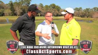Class Act Sports interviews Jesse Litsch at 4th Annual Charity Golf Outing (2013)