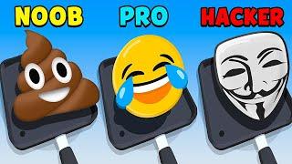 NOOB vs PRO vs HACKER - Pancake Art