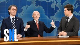 weekend update al franken and jeff sessions snl