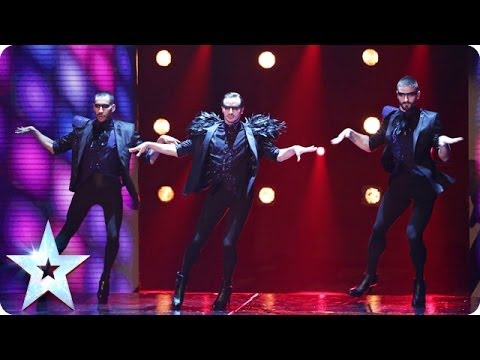 Well heeled dancers Yanis Marshall, Arnaud and Mehdi | Britain's Got Talent 2014