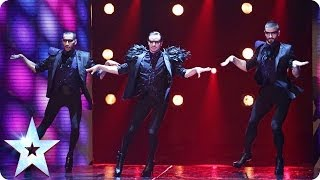 Well heeled dancers Yanis Marshall, Arnaud and Mehdi | Britain's Got Talent 2014 thumbnail