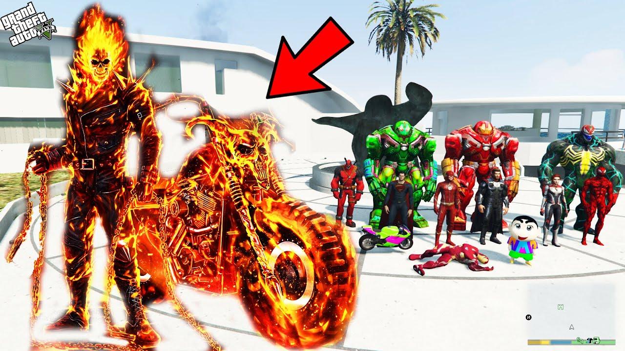 Download GTA 5 : Franklin Finally Planned To Kill Ghost Rider in GTA 5 !   Techerz