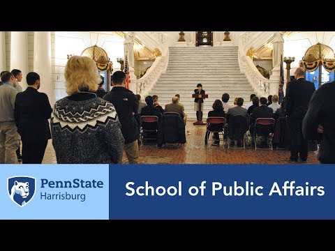 The School of Public Affairs at Penn State Harrisburg