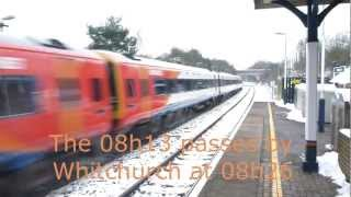 SouthWest Trains chooses to have late train bypass Whitchurch, Hampshire
