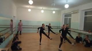 Контрольный урок по современному танцу. Шестой год обучения. Преподаватель Дарья Кисель.