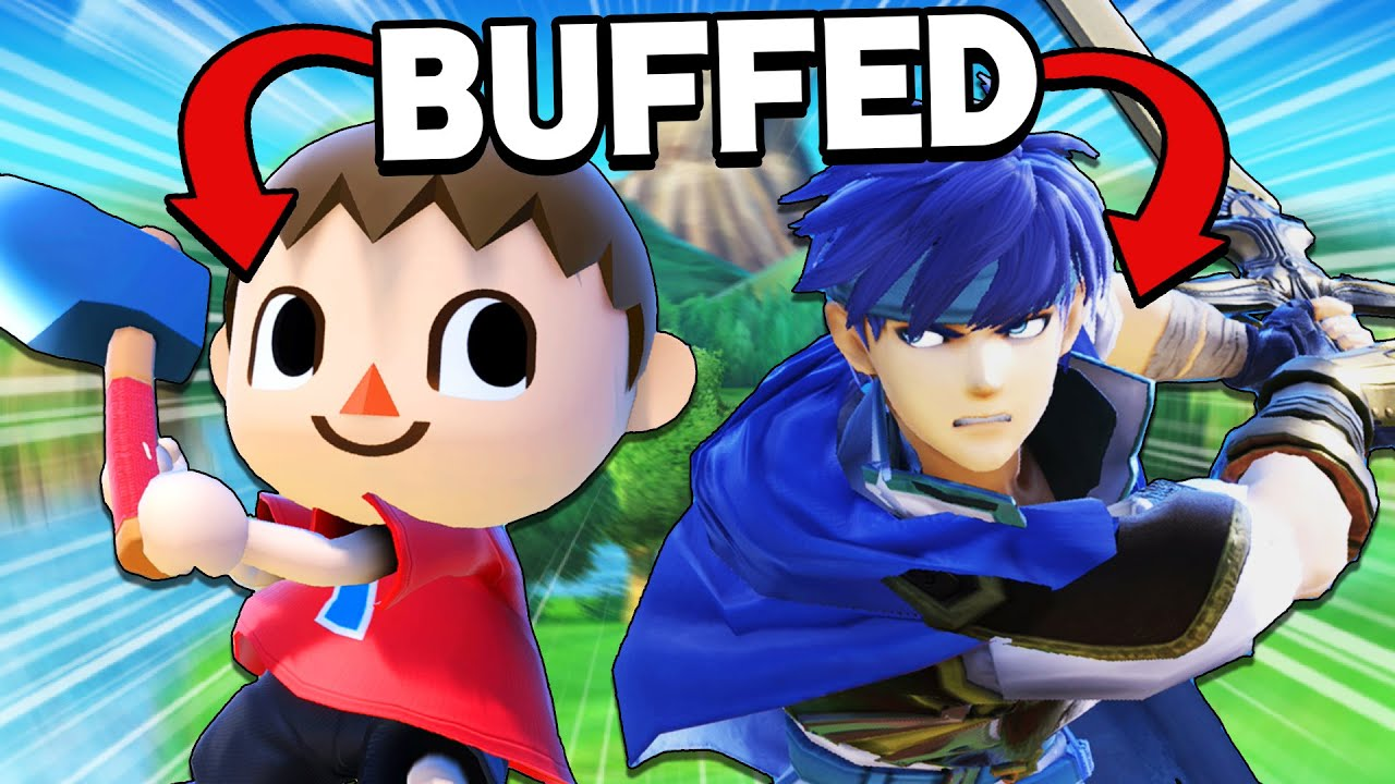 More BUFFED Characters vs. Elite Smash