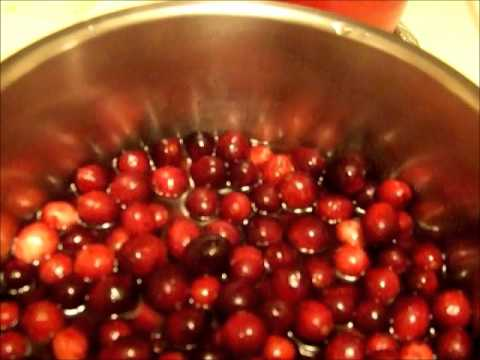 Low Carb Spiced Cranberry Sauce