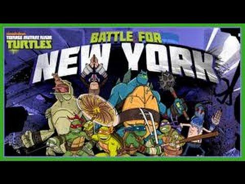Teenage Mutant Ninja Turtles   Ritorno a New York-  italiano cartoni animati