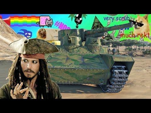 Jack Sparrowal Találkozós World of Tanks Montázs