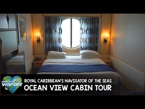 Royal Caribbean's Navigator of the Seas - Ocean View Cabin 2608 Tour