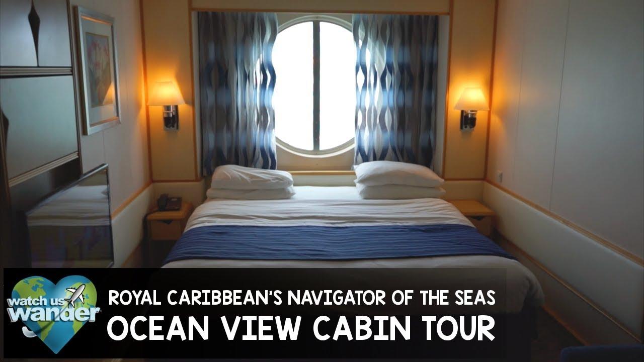 Royal Caribbean S Navigator Of The Seas Ocean View Cabin
