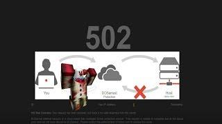 Roblox Error 502!!