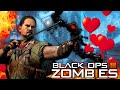 Black Ops 3 Zombies | VALENTINES DAY EASTER EGG! / Der Eisendrache CARTOON HEARTS!