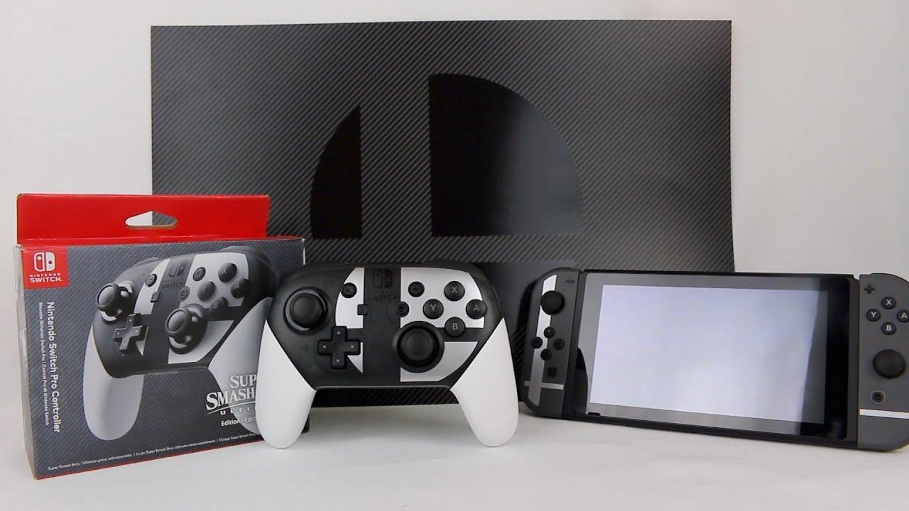 nintendo switch super smash bros ultimate edition pro controller