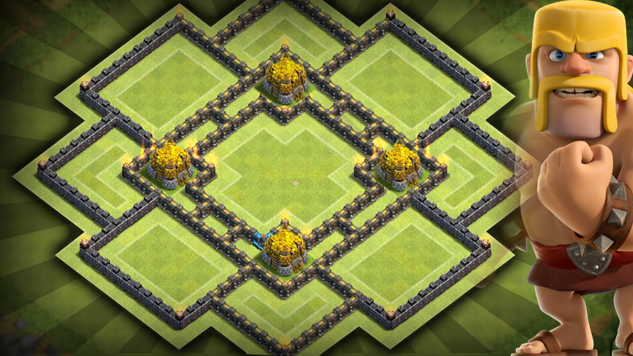 Clash of clans best townhall 10 th10 farming base youtube