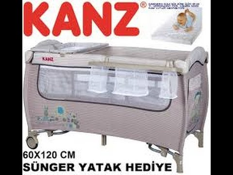 Kanz KZ-8021 Strauss 60x120 Bebek Oyun Parkı Yatak