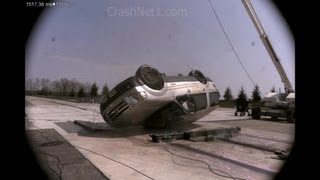 Ford Expedition | 2007 | Curb Trip Rollover Crash Test | NHTSA | CrashNet1