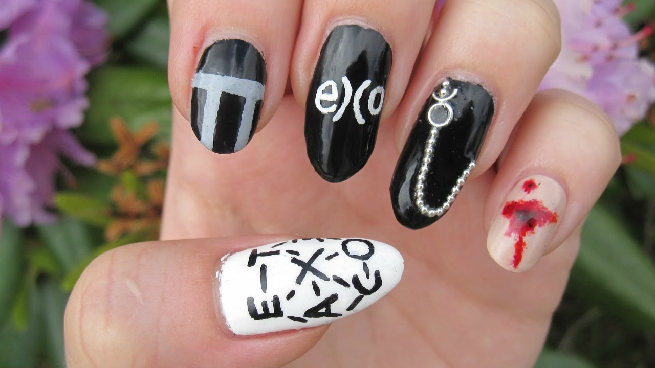 EXO - Monster Nail Art - YouTube