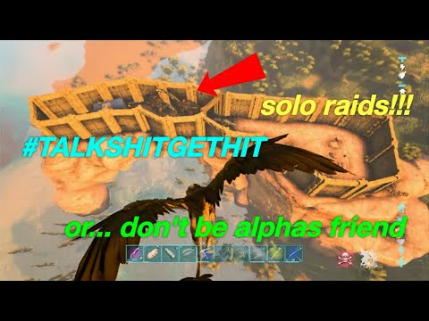 Ark: new official servers raiding everyone who is a friend with the alpha tribe!!! Ep.9