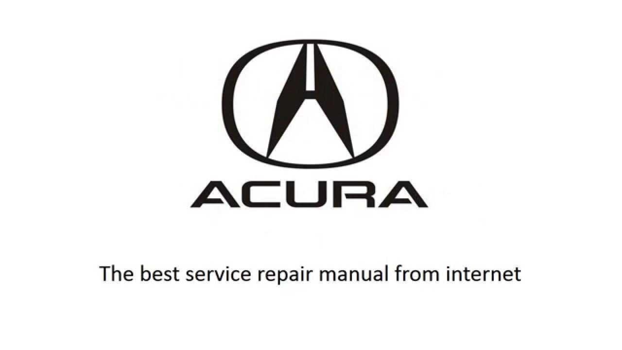 acura tl 2004 2005 2006 2007 repair manual youtube rh youtube com 2006 Acura TL Type S 2006 acura tl repair manual download
