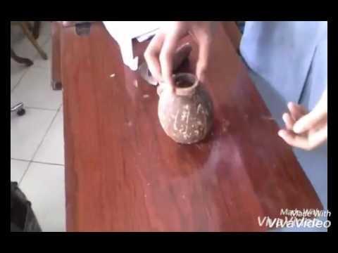 Cara Pembuatan Vas Bunga Dari Batok Kelapa Youtube
