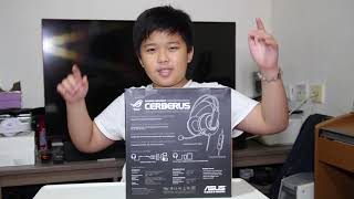 UNBOXING the ASUS CERBERUS GAMING HEADSET