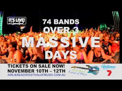 Airlie Beach Festival of Music 2017 TV ad