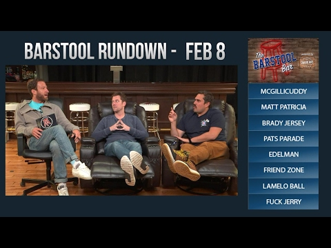 Barstool Rundown - February 8, 2017