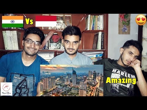 Foreigner Reacts To: MUMBAI(INDIA) VS JAKARTA(INDONESIA)|Skyline/Infrastructure comparison|2017