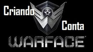 Tutorial - Como  Criar Conta Uma Conta No WarFace e na Level  Up