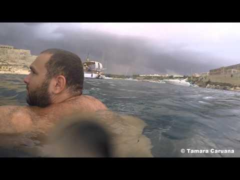 Tornado in Malta in Summer