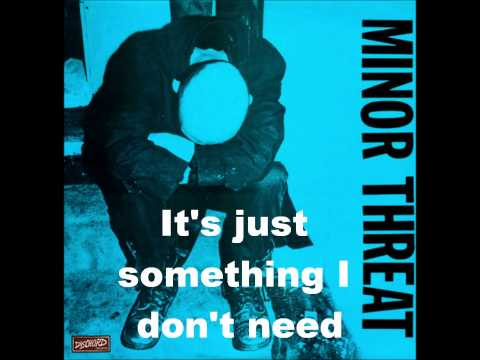 Minor Threat-Straight Edge