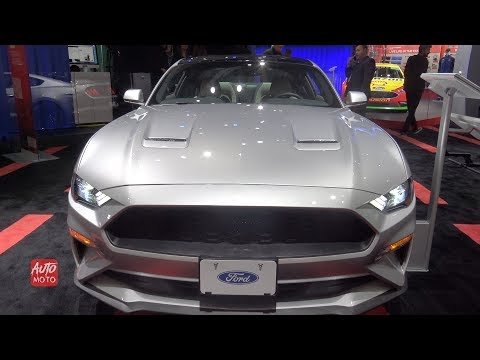 Ford Mustang Ecoboost Coupe Premium - Exterior And Interior Walkaround -  LA Auto Show
