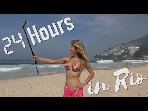 24 Hours in Rio!!!!!!  Hang gliding, sugar loaf, christ the redeemer, favelas...