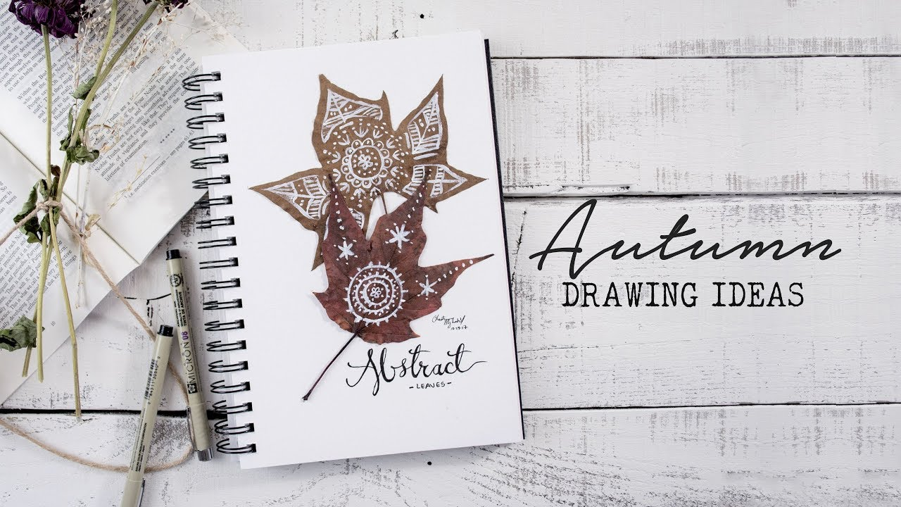5 Ways To Fill A Sketchbook   Autumn Edition! - YouTube