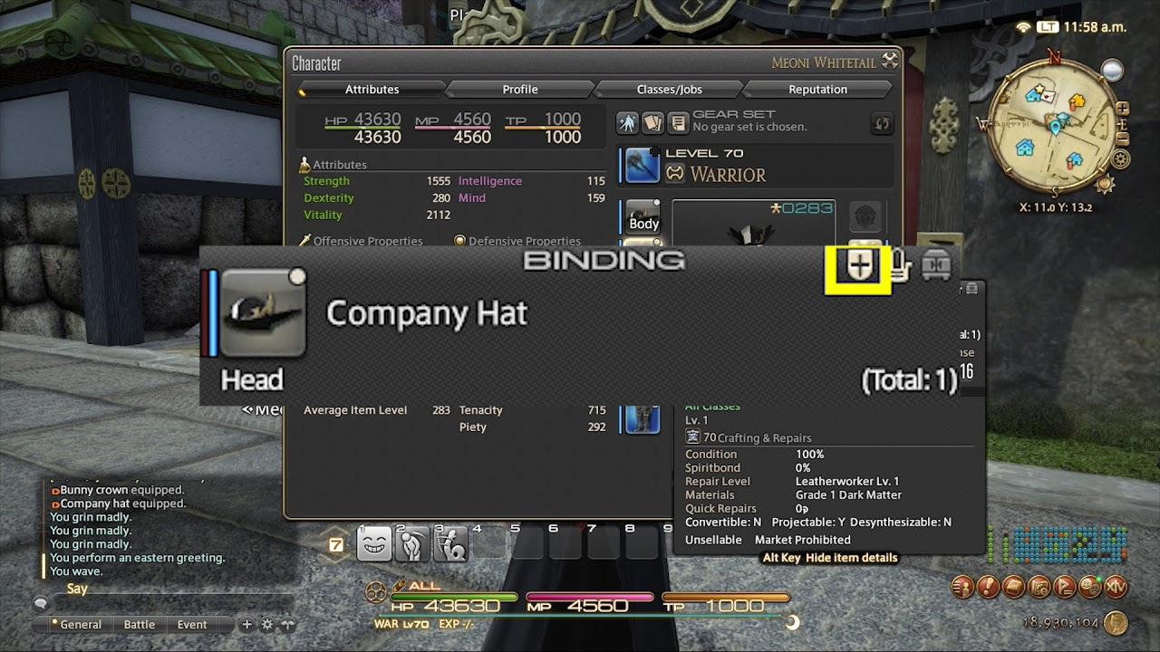 FFXIV: New Gear Icons & What They Mean