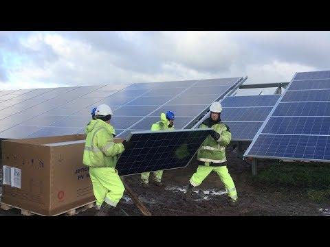 CTIEC Renewable Energy Companies Build Large Solar Farm In UK | Techno Update