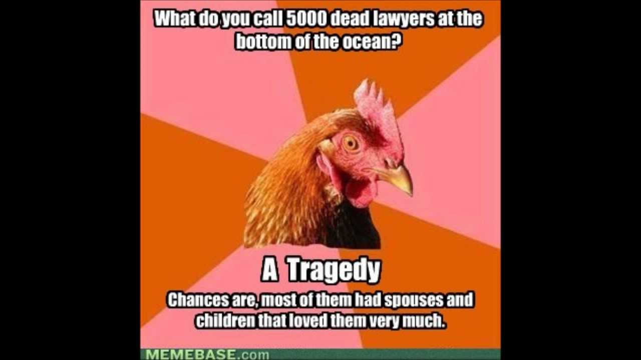 Anti-joke Chicken.