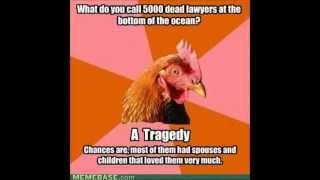 Anti-joke chicken.