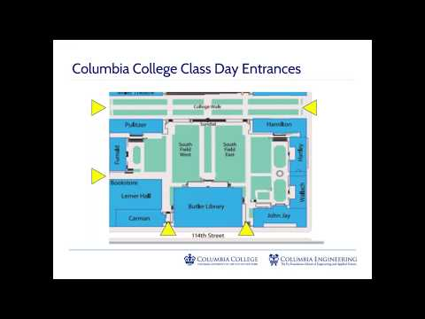 Commencement Week for Columbia Families
