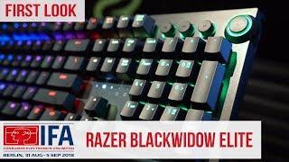 Razer BlackWidow Elite Gaming Keyboard - First Look #IFA2018