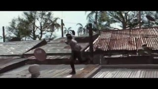 Tony Jaa Amazing Stunt and Fight Action Movie Skin trade 2014, Dolph Lundegren